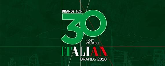 BrandZ: Top 30 Italian Brands
