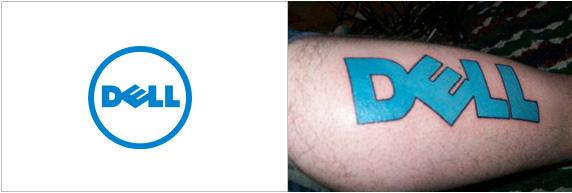 Dell tatuaggio