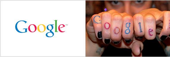 Google tatuaggio