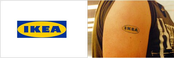 Ikea Tatuaggio