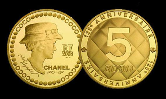 La prima moneta dedicata a Coco Chanel