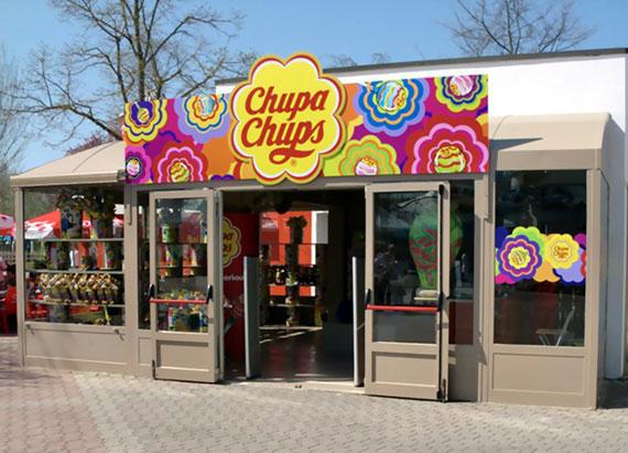 primo Chupa Chups Store italiano