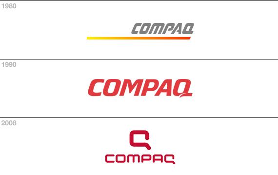 comaq evoluzione marchio