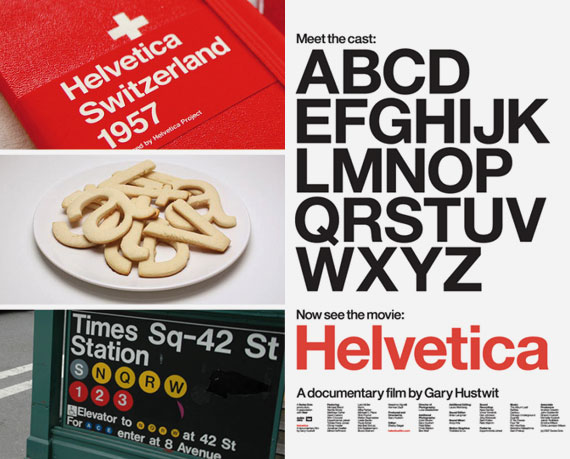 Helvetica applicazioni