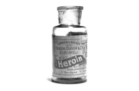heroin bottiglia