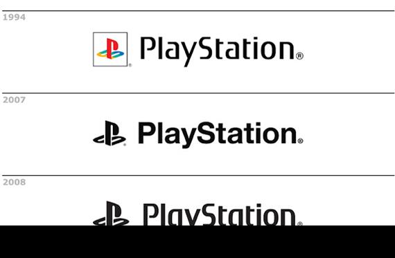 Evoluzione logo playstation