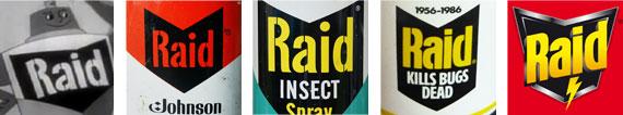 evoluzione marchio raid