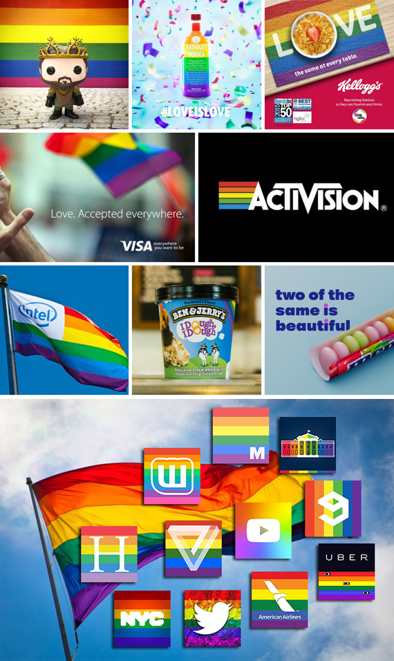 brands con Rainbow Flag