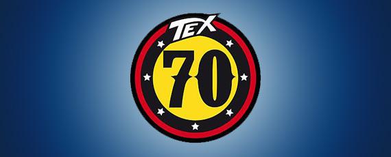 TEX logo 70 anni