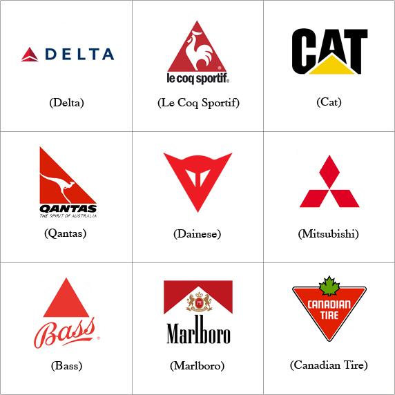 brand che usano il triangolo