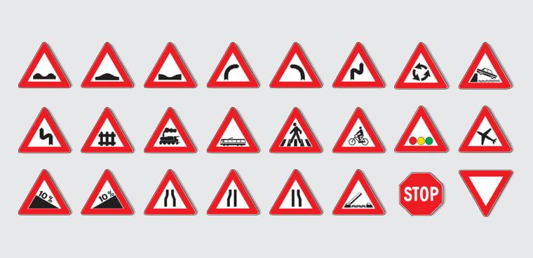 triangoli stradali